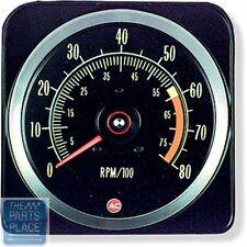 1969 Chevrolet Camaro Z28 Dash Tach Tachometer 6000 Red Line - 8000 RPM