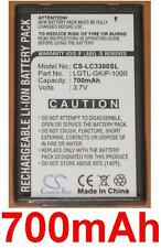 Batterie 700mAh type LGTL-GKIP-1000 SBPL0076308 Pour LG C3320