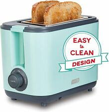 Dash Dezt001Aq 2 Slice Extra Wide Slot Easy Toaster With Cool Touch + Defrost Fe