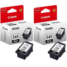 2x Original Canon PG545 Black Ink Cartridges For PIXMA TS3150 Inkjet Printer