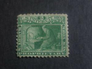 United States 1865 Barry's New York Proprietary Tax Stamp - High CV