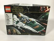 Lego Star Wars Resistance A-Wing Starfighter 75248, 269 PCS New Open Box