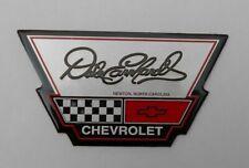 DALE EARNHARDT CHEVROLET CHEVY DEALERSHIP METAL EMBLEM DECAL NASCAR 3