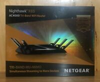 NETGEAR Nighthawk X6s Tri-band Ac4000 WiFi Router BRAND NEW FACTORY SEALED
