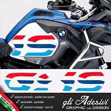2 Adesivi Fianco Serbatoio Moto BMW R 1200 gs adventure LC big 2016 anniversary
