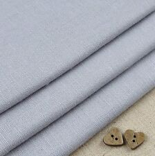 Robert Kaufman Essex Grey Linen Blend Fabric / quilting dressmaking a