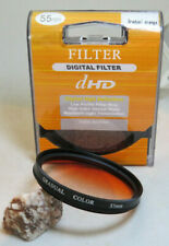 55mm DHD Gradual Orange Filter - Great For Sunsets + Free UK Postage