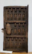 """African Wood Door With Latch African Tribal Art 13"""" X 23 1/2"""""""