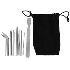 Knitting Needles 9PCS Needles Set Sturdy Durable for Knitting Bag Backpack