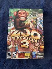 Zoo Tycoon 2 (PC, 2004) FREE SHIPPING
