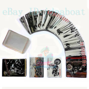 Collectible Playing card/Poker Deck 54 cards World Famous Motorcycles Motorbike