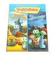 """VeggieTales """"The Wonderful Wizard of HA's"""" & """"It's a Meaningful Life"""" DVD NEW"""