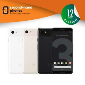 Google Pixel 3 - 64GB/128GB - Black/White/Pink - (UNLOCKED/SIMFREE) Smartphone