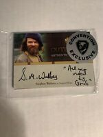 LACC NYCC 2019 Cryptozoic Outlander Stephen Walters Autograph Card Exclusive 2