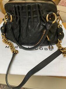 Marc Jacobs Stam Black Leather Bag