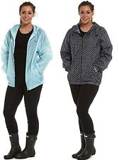 Pro Climate Ladies Waterproof Jacket Lightweight Raincoat Festival Kag In A Bag