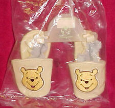 Baby Infant Shoe 12-18 Month Moccasin Disney Store Winnie the Poo New Slippers