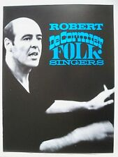 THE ROBERT DeCORMIER FOLK SINGERS Souvenir Program CONCERT TOUR 1964-65