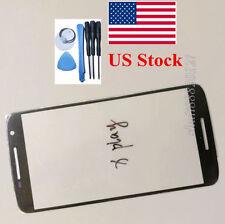 black front outer len glass for Motorola MOTO X Play xplay XT1561 XT1562 XT1563