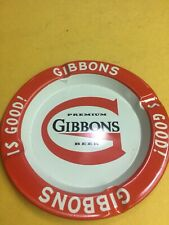 Vintage Gibbons Beer Ashtray Advertising Wilkes Barre Pa lot of 2