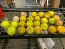 Lot of 25 Twenty Five Dudley Softballs (Used-New) Thunder Advance 12""