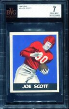 1948 Leaf #85 Joe Scott BVG 7 New York Giants -