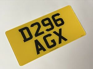 Rear 13 X 6.5 road legal Japanese Import Number Plate 100% MOT Compliant