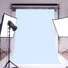 Plain Solid Blue Wall Polyester Photo Background Photography Backdrop Prop 5X7FT