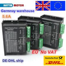 【EU Stock】 3Pcs DM556D Digital Stepper Motor Driver 24-50V 5.6A for CNC Router