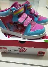 scarpe sneakers alte bambina my little pony n. 33 con luci