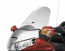 Sweptback Windshield Clear with Vent Show Chrome 20-518