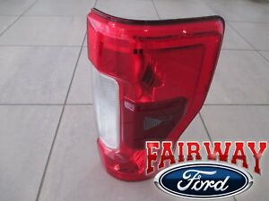 17 thru 19 Super Duty F250 F350 OEM Ford Tail Lamp Light w/RADAR Non-LED - RIGHT
