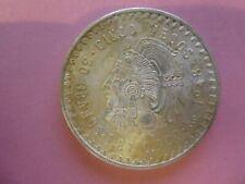 Mexico 1948 Silber 5 Pesos Cuauhtemoc