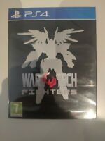 wartech war tech fighters red art game limited ps4 ps4 playstation 4 neuf