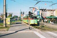 PHOTO  2002 POLAND TRAM POZNAN RONDO SRÓDKA  TRAM NO 669 ON ROUTE 8