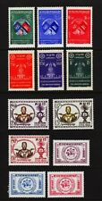 CAMBODIA #59//73 FOUR COMPLETE SETS Mint Hinged