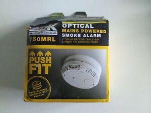BRK 750MRL Optical Smoke Alarm EXPIRY JULY 2022