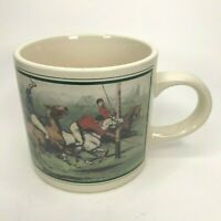 Vintage Polo Ralph Lauren Vintage 1978 Coffee Mug Equestrian Caramic Tea Cup C10