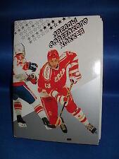 1989 RUSSIAN HOCKEY - RUSSIAN NATIONAL TEAM SET (24) 4x6 CARDS ! FEDEROV (RC) !