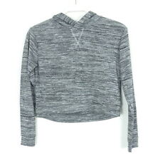 c5ce121002a5be H&M Pullover Strick Knit Cropped Schwarz Glitzer Gr. 10-12 146/152