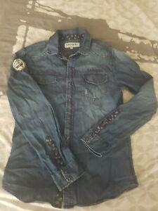 chemise en jeans Kaporal 16 ans