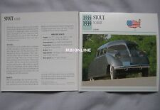 Stout Scarab Collectors Classic Cars Card