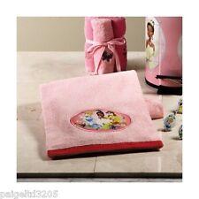 Disney Disney  Princess Embroidered 100% Cotton Bath Towel