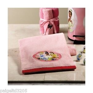 Disney Disney  Princess Embroidered 100% Cotton Bath Towel