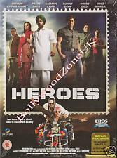 HEROES - SUNNY DEOL - NEW UK SPEC ORIGINAL BOLLYWOOD DVD