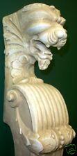 """35""""Lion Face Fire Place Mantel Wall Decor Sculpture Art Architectural Accent"""