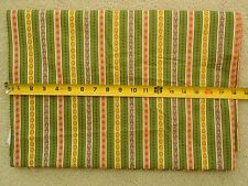 """BTHY,35"""", Vintage 1940's-60's, Vertical Stripes with Tiny Print, D60"""
