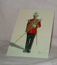AB13/1 Drum Major Royal regt Wales Military Postcard