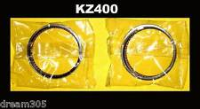 Kawasaki KZ400 Piston Rings Set x 2 STD size 1978 1979 1980 1981 13008-5019 Z400