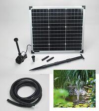 30 W Solarpumpe Solarteichpumpe Solar Teich Tauch Pumpe Gartenteich Bachlauf NEU